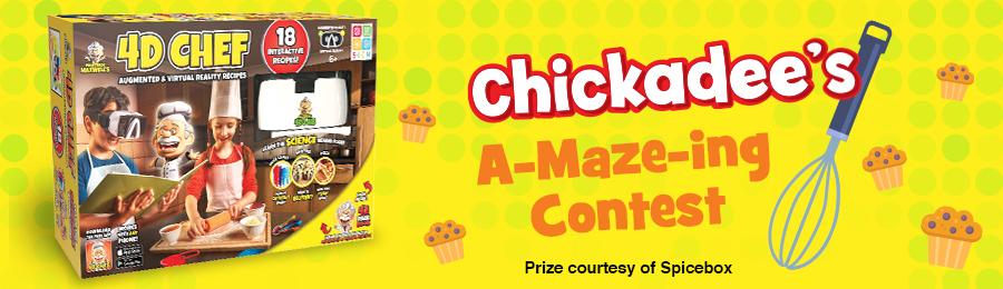 Chickadee Magazine: A-Maze-ing Contest Banner
