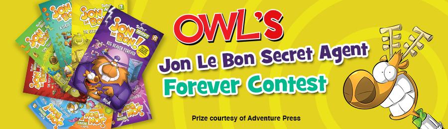 Chickadee Magazine: Jon Le Bon Contest Banner