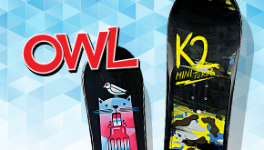 OWL Magazine: Design a Snowboard Contest Button