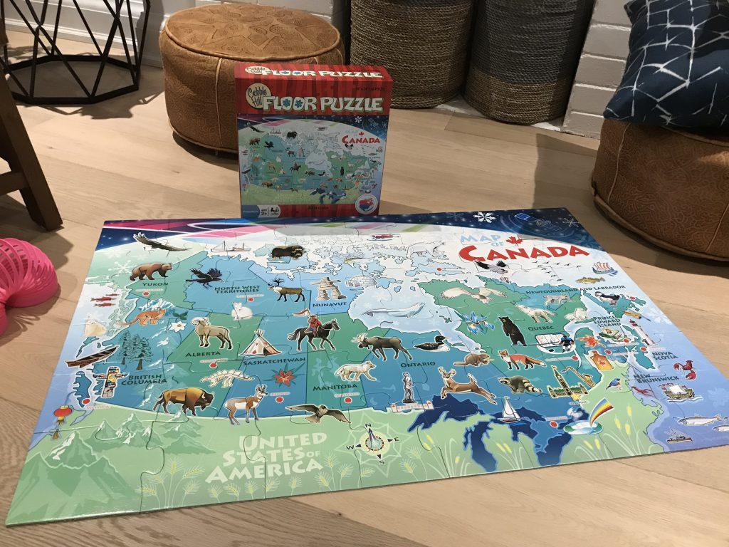 36 piece floor puzzle
