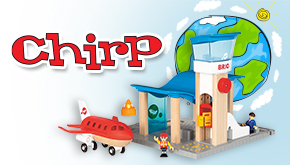Chirp Magazine: Earth Contest Button