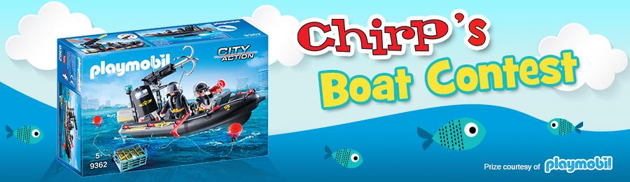 Chirp Magazine: Boat Contest Button