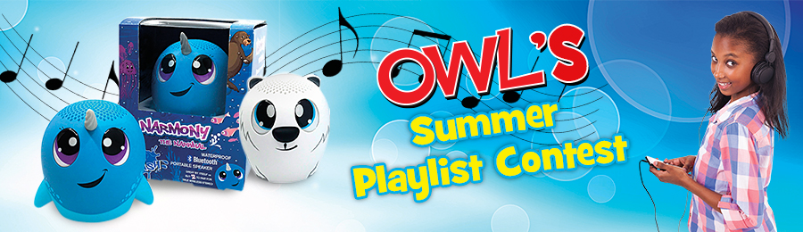 OWL Magazine: Summer Playlist Contest Banner