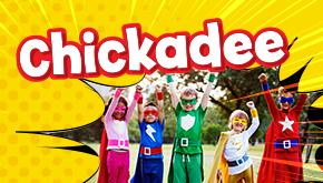 Chickadee Magazine: Super Squad Button