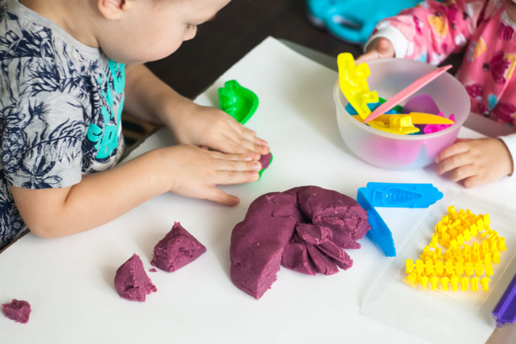 Play Dough Easy Craft