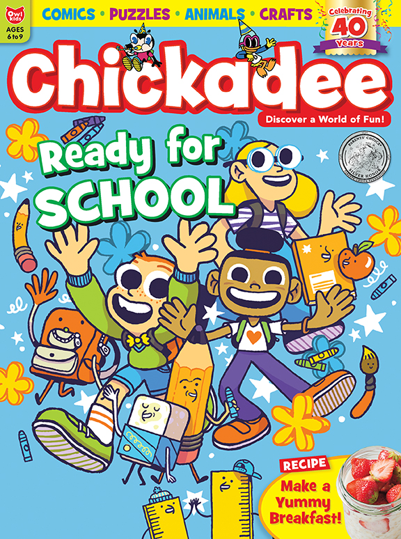 Chickadee magazine September 2019 issue