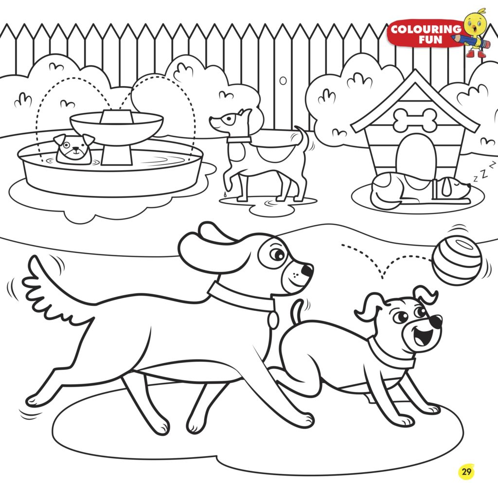 Chirp Blog: Colouring Sheet