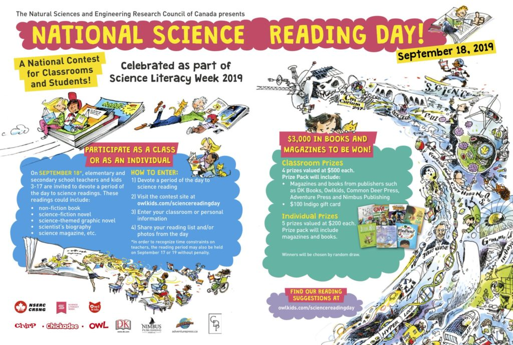 Chirp Blog: National Science Reading Day