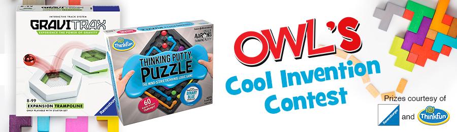 OWL Magazine: Contest Banner