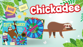 Chickadee Magazine: Contest Button