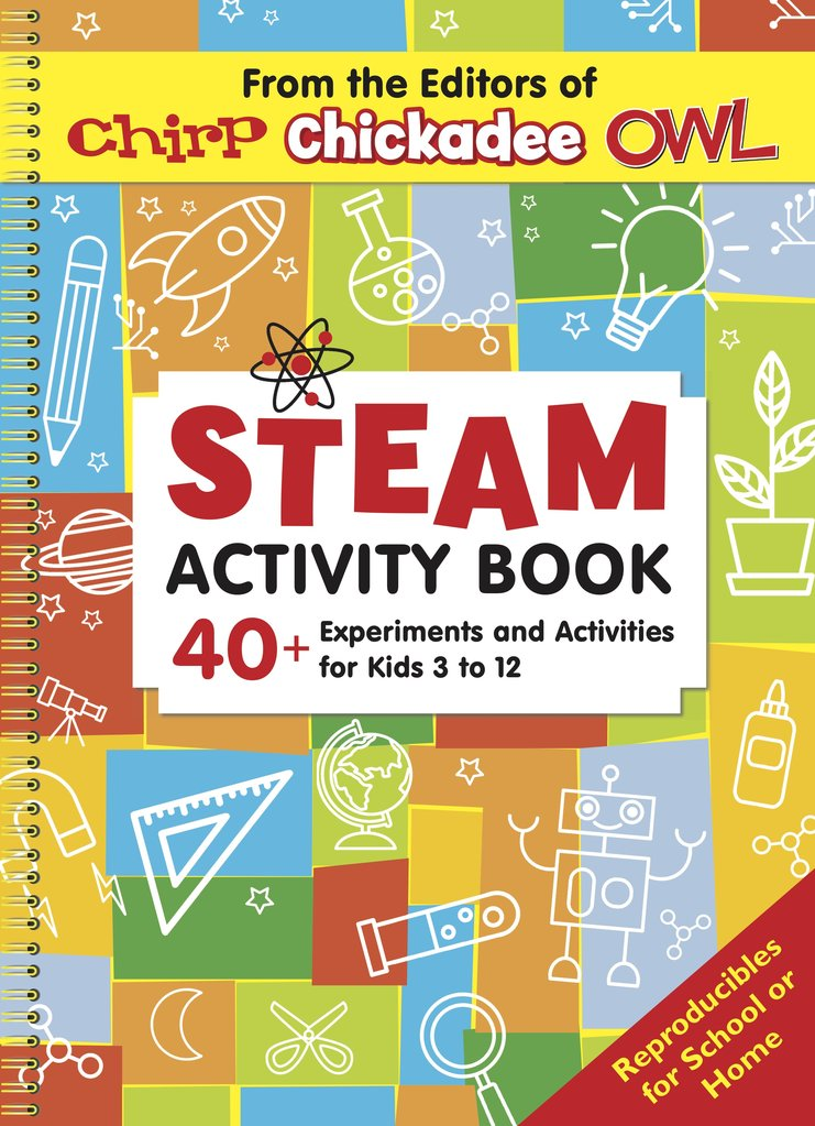 Chickadee Blog: Steam Activity Book Contest