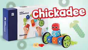 Chickadee Magazine: Contest Button