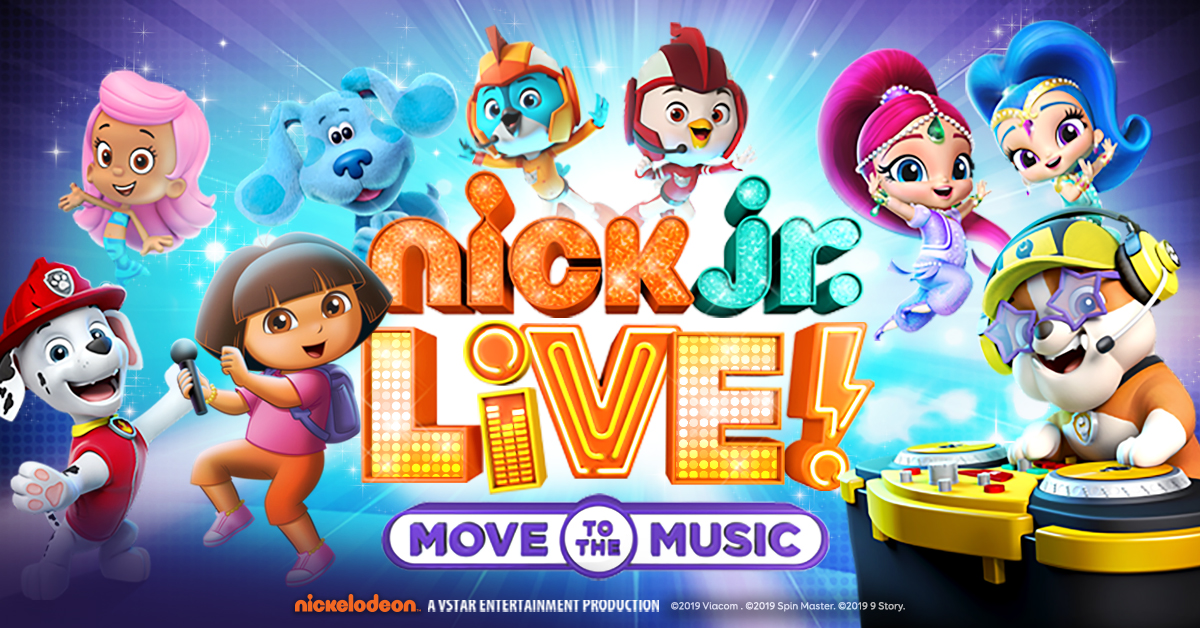 Nick Jr. Live! Move to the Music Contest (Toronto)