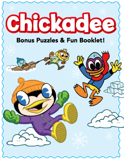 Chickadee Blog: Chickadee bonus puzzles & fun activity booklet