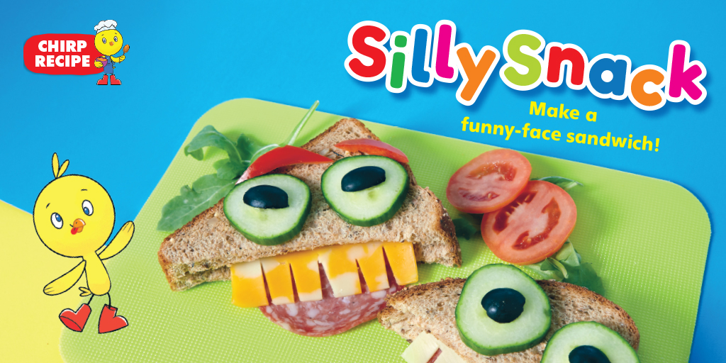 Chirp Blog: Silly snack recipe