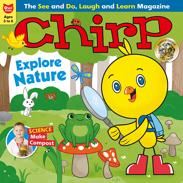 Chirp Magazine: April issue web updates