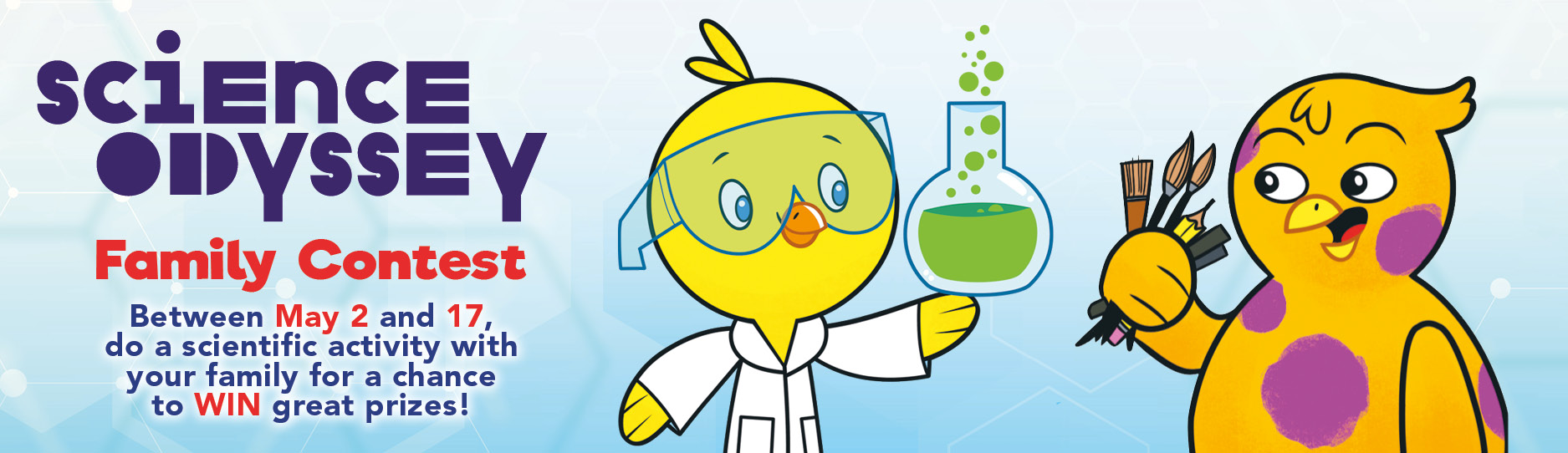 Chirp science odyssey contest: contest banner