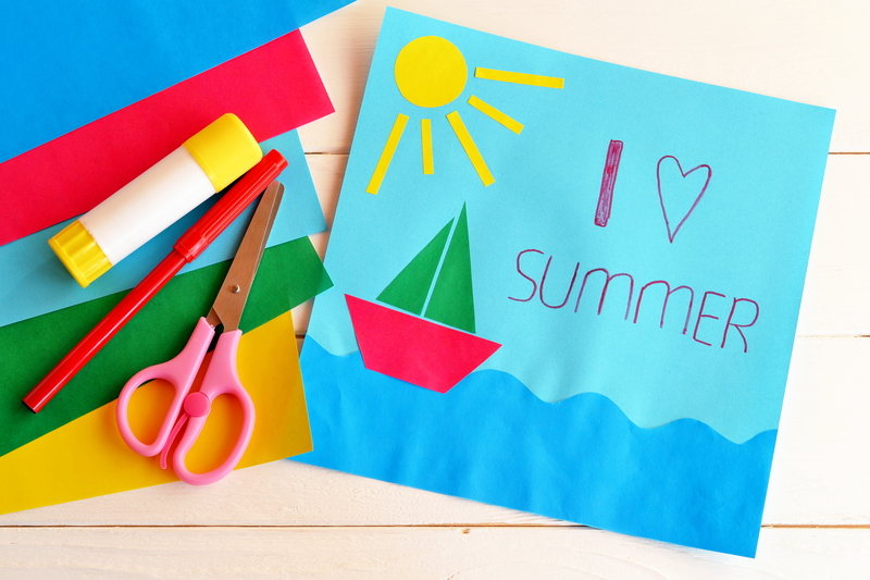 Chickadee blog: Summer Craft